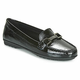 Geox  D ELIDIA  women's Loafers / Casual Shoes in Black