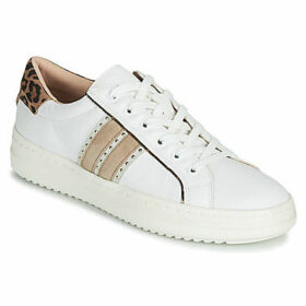 Geox  D PONTOISE  women's Shoes (Trainers) in White
