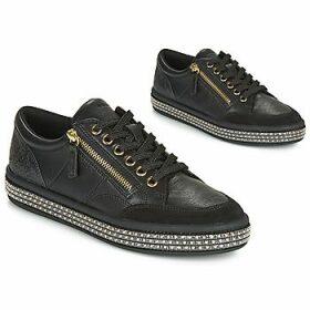 Geox  D LEELU'  women's Shoes (Trainers) in Black