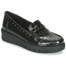 Geox  D WIMBLEY MOC  women's Loafers / Casual Shoes in Black