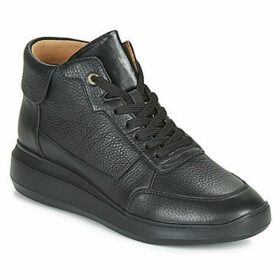 Geox  D RUBIDIA  women's Shoes (High-top Trainers) in Black
