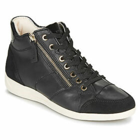 Geox  D MYRIA  women's Shoes (High-top Trainers) in Black