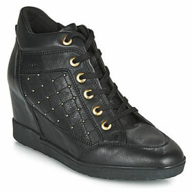 Geox  D CARUM  women's Shoes (High-top Trainers) in Black