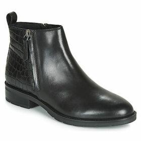 Geox  D BETTANIE  women's Mid Boots in Black