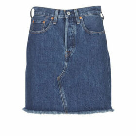 Levis  HR DECON ICONIC BF SKIRT  women's Skirt in Blue