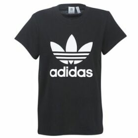 adidas  BOYFRIEND TEE  women's T shirt in Black