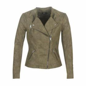 Only  ONLAVA  women's Leather jacket in Kaki
