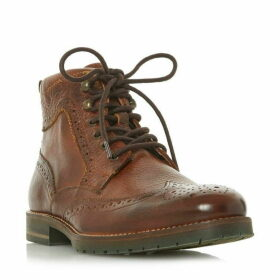 Dune Chicory Lace Up Brogue Boots