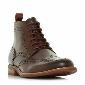 Dune Marila Leather Brogue Boots