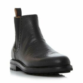 Polo Ralph Lauren Numan brogue detail chelsea boots