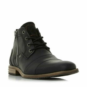 Dune Captains Double Toe Cap Lace Up Boots