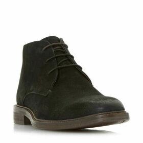 Bertie Mogul Plain Two Eye Chukka Boots