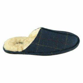 Howick Check Tweed Mens Slippers