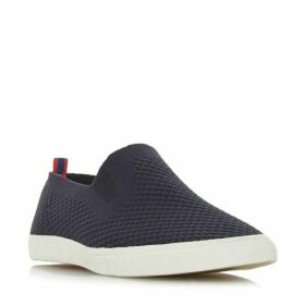 Dune Fabregas Fly Knit Slip On Shoes