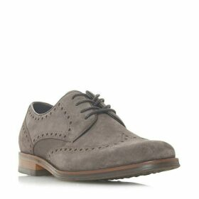 Bertie Pabulum Brogue Detailed Gibson Shoes