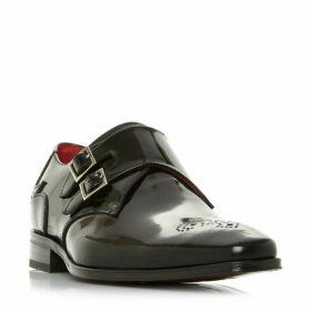 Jefferey West K103 Double Buckle Monk Shoes