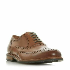 Dune Palladium Heavy Brogue Shoes