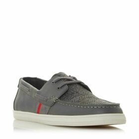 Dune Boita Knitted Vamp Boat Shoes