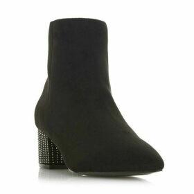 Head Over Heels Onassis Hot Fix Point Block Heel Boots