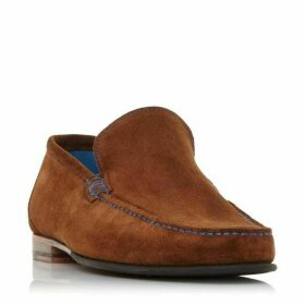 Dune Nicholson Contrast Stitch Loafers