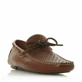 Bertie Barbican1 Woven Driver Loafers