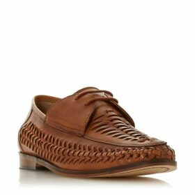 Bertie Bondibeach Lace Up Woven Loafers