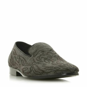 Dune Synchronise Embroidered Slipper Cut Loafers