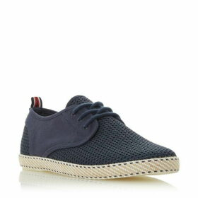 Dune Flask Mesh Lace Up Espadrille Shoes