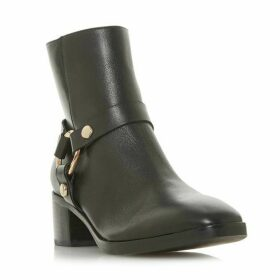 Dune Pryncetown Metal Circle Detail Ankle Boots