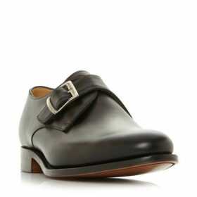 Barker Northcote Leather Monk Shoes
