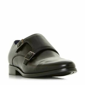 Dune Wpires Toecap Double Monk Shoes