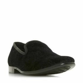 Dune Percolate Velvet Embossed Shoes