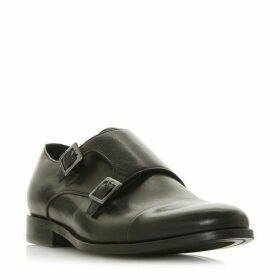 Dune Prise Double Buckle Monk Shoes