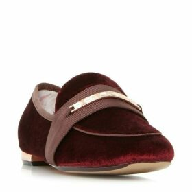 Ted Baker Elienav Velvet Loafers