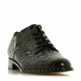 Dune Francisco Stud Rand Lace Up Shoes