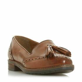 Dune Wf Gillian Wide Fit Tassel Loafers