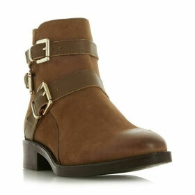 Dune Pheonixx Buckle Detail Ankle Boots