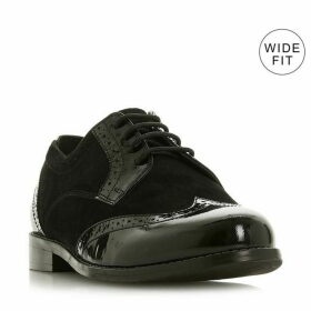 Dune WF Foxxy WF Mix Material Lace Up Shoes