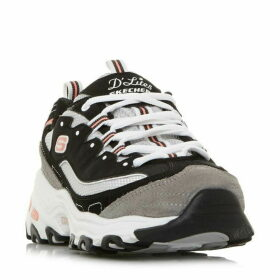 Skechers D`Lites New Jou 2 Tone Chunky Sole Trainers