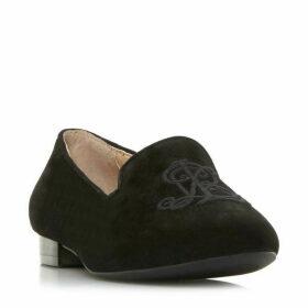 Ralph Lauren Coleena Rl Embroidery Loafers