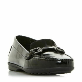 Geox D Elidia A Patend Saddle Loafers