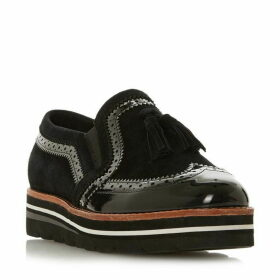 Dune Glorify Tassel Charm Loafers