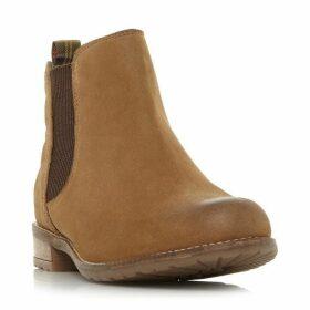 Dune Abigail Quilt Panel Chelsea Boots