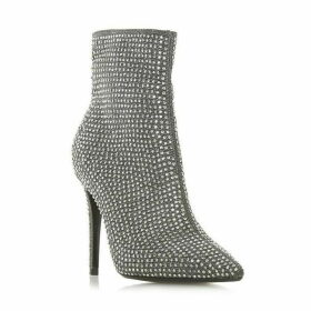 Dune Orrnate Studded High Heel Ankle Boots