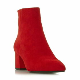 Dune Omarii Block Heel Pointed Ankle Boots