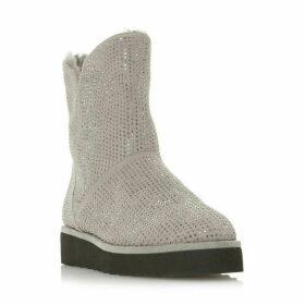 Dune Pina Fur Lined Hot Fix Boots