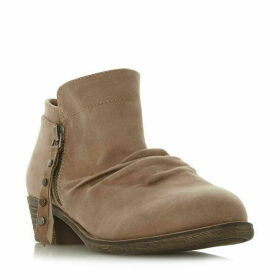 Head Over Heels Portis Ruched Western Boots
