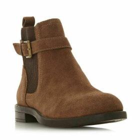 Linea Pattie Buckle Chelsea Boots