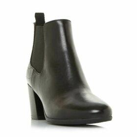 Geox D N. Lucinda A Croc Detail Ankle Boots