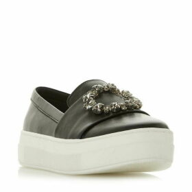 Dune Elston Brooch Trim Sport Trainers